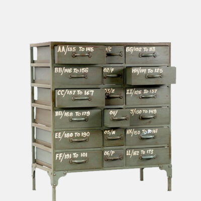 Industrial Multi Drawer Cabinet