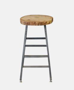 Reclaimed Wood Bar Stool