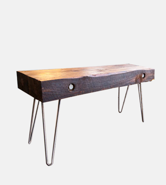 Reclaimed Wood Bench - Industrial Furniture, Reclaimed Wood Furniture ...