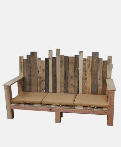Reclaimed Wood Bench 4
