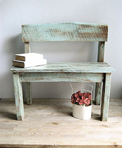 wood recycling | Reclaimed Wood Bench