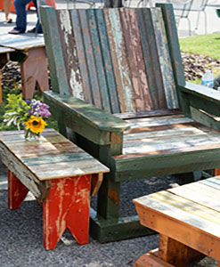 reclaimed wood furniture | Reclaimed Wood Chairs