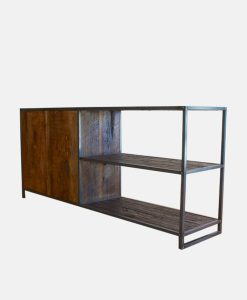 Reclaimed Wood Contemperory Cabinet