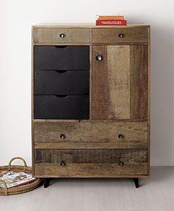 recycled furniture | Reclaimed Wood Drawers | old wood