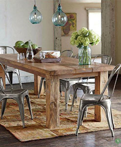 reclaimed wood furniture | Reclaimed Wood Table