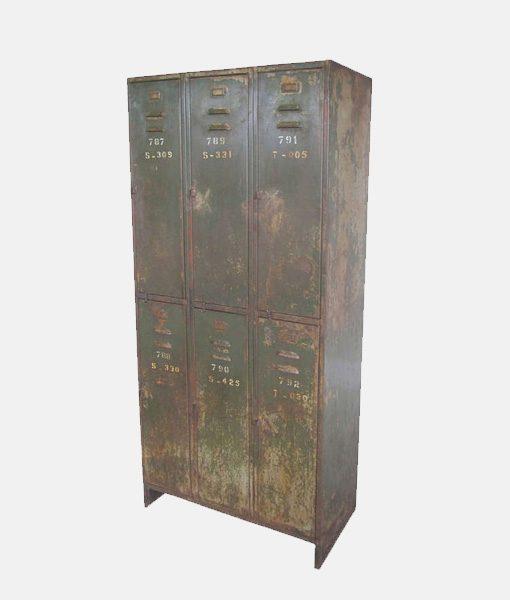 Vintage Industrial Cabinet 1