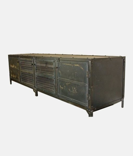 Vintage Industrial Cabinet 3