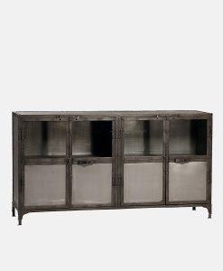 Vintage Industrial Cabinet 4