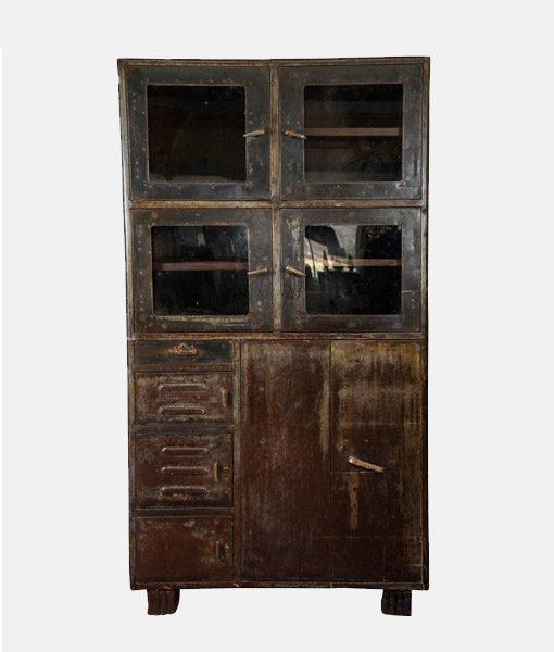 Vintage Industrial Cabinet 5
