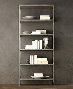 industrial furniture | Industrial Bookshelf | BOE