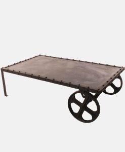 VIntage Cart Industrial Table