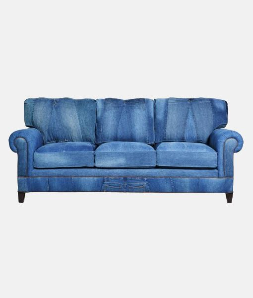 Denim sofa janley denim sofa 4380738 sofas naturally wood furniture thesofa Denim couch and loveseat
