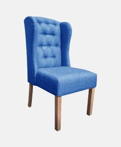 upholstery fabric | Denim Chair with Wings