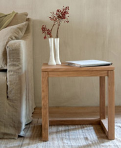 wood furniture manufacturers | Solid Side Table