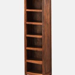 Long Wooden Book Shelf