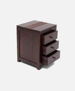 Solid Wood Furniture | Solid Wood Bed Side - Best of Export