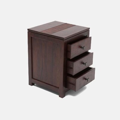 Solid Wood Furniture   Solid Wood Bed Side - Best of Export