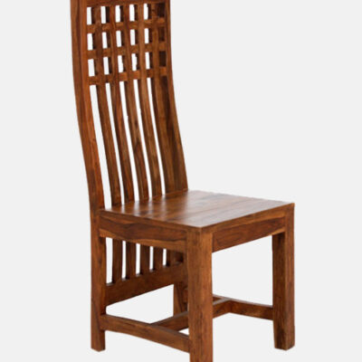 Curve Solid Wooden Chair