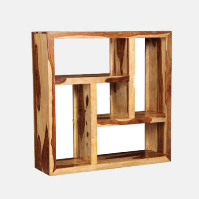 Solid Wooden Book Shelf 6