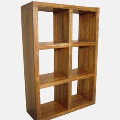 Solid Wooden Book Shelf 7