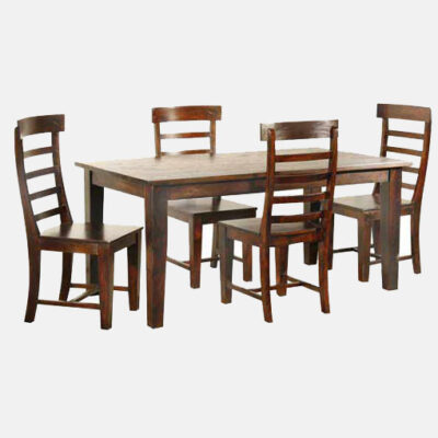 Solid Wooden Dining Set 2