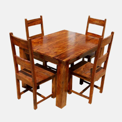 Solid Wooden Dining Set 3