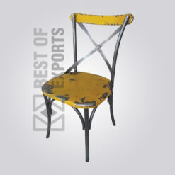 Vintage Industrial Dining Chair 2