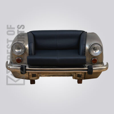 Ambassador Car Industrial Leather Sofa Front