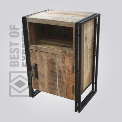 Metal/Wood Sidetable