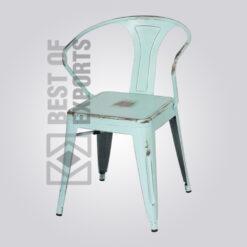 Industrial Metal Side Chair