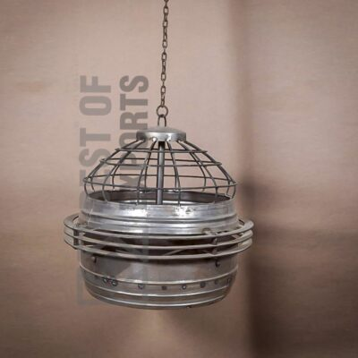 Industrial Cage Style Ceiling Lamp