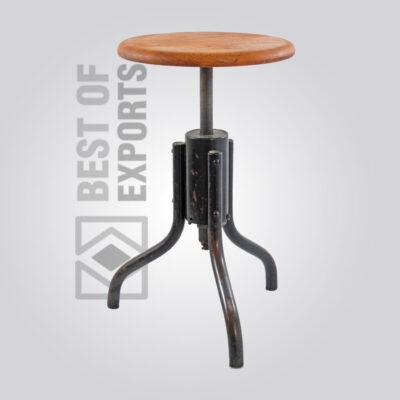 Counter Height Round Bar Stool