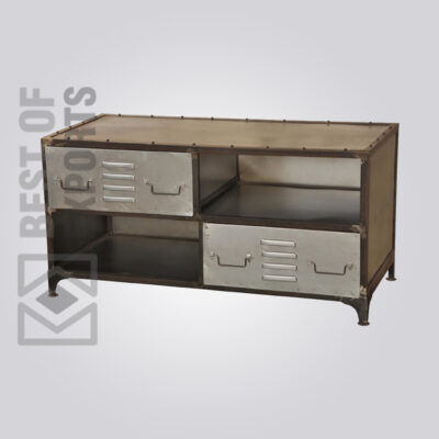 Industrial Media Unit With Drawer