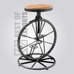 Adjustable Cycle Bar Stool