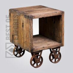 Reclaimed Wood Sidetable