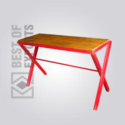 Cross Leg Console Table