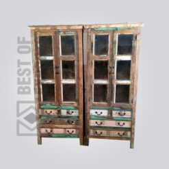 Reclaimed Wood Storage Cabinet