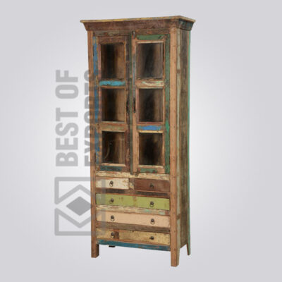 Reclaimed Wood Cabinet - 9