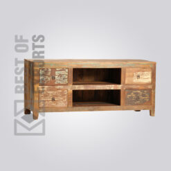 Reclaimed Wood Media Console - 7