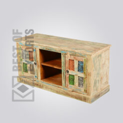 Reclaimed Wood Tv Stand - 4
