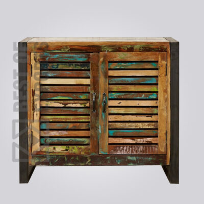 Reclaimed Small Sideboard With 2 Door