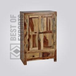 Solid Wood Wardrobe - 4