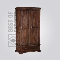 Solid Wood Wardrobe - 5