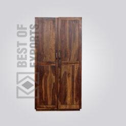 Solid Wood Wardrobe - 6