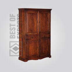 Solid Wood Almirah - 5