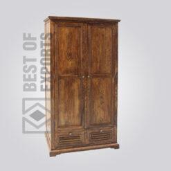 Solid Wood Almirah - 6