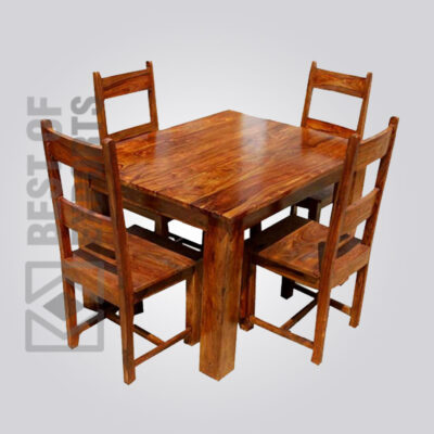 Solid Wood Dining Table - 2