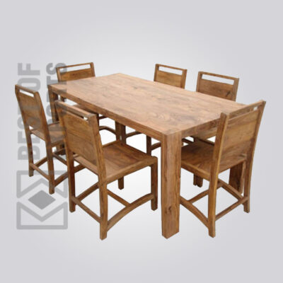 Solid Wood Dining Table - 3
