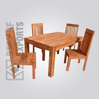 Pure Wooden Dining Set