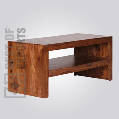 Solid Wood Media Console - 2